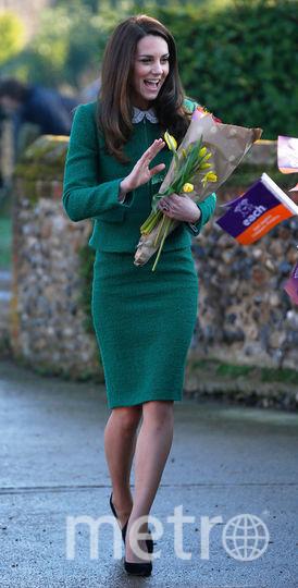 Кейт Миддлтон выходит в число самых стильных монархов. Фото Getty