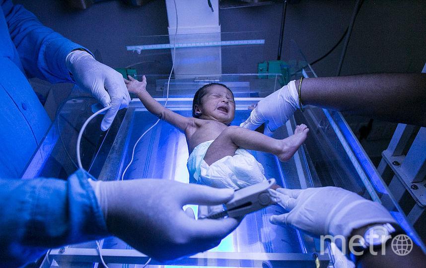 Американка сама достала своего ребёнка из утробы после кесарева сечения. Фото Getty