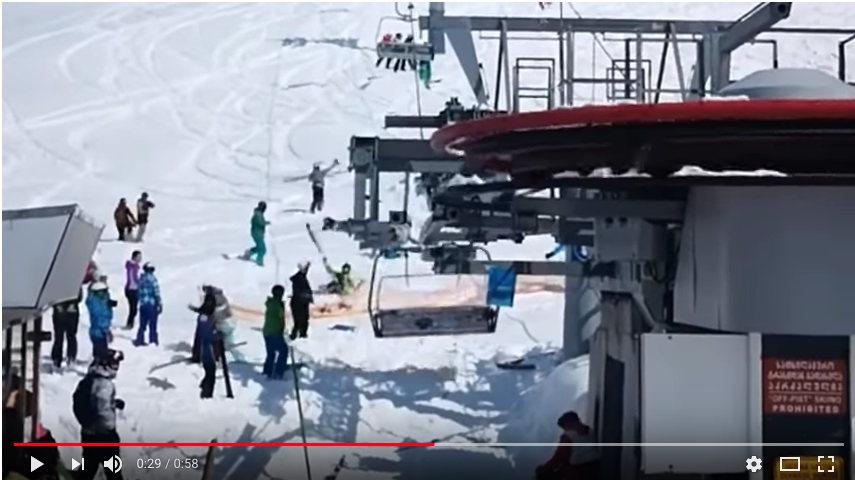 ЧП в Грузии. Видео. Фото скрин-шот