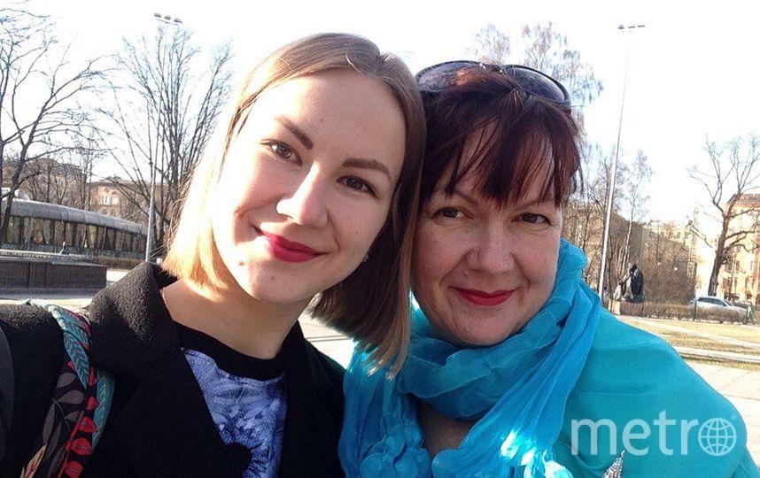 Аннушка и мама Лена Коноваловы. Фото Елена