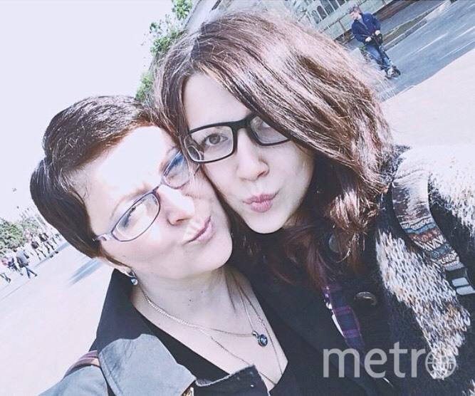 Мама Елена Трубицына и дочка Маша Трубицына. Фото Елена