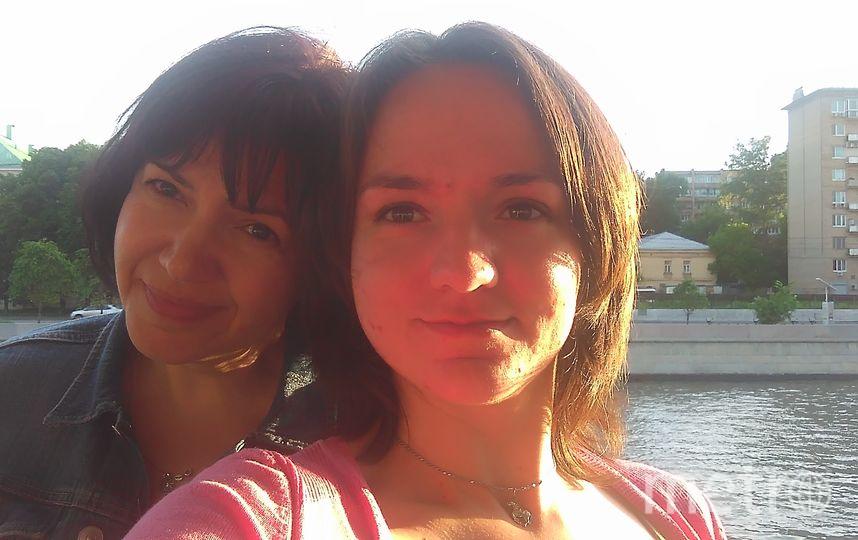 Пефтиева Наталья (дочь) и Пефтиева Ирина (мама). Фото Наталья