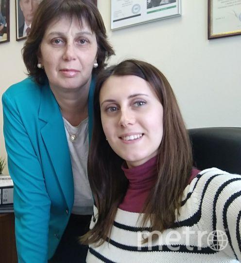 Моя мама Галкина Овсана (это армянское имя) и я Екатерина Шергина. Фото Екатерина Шергина (Галкина)