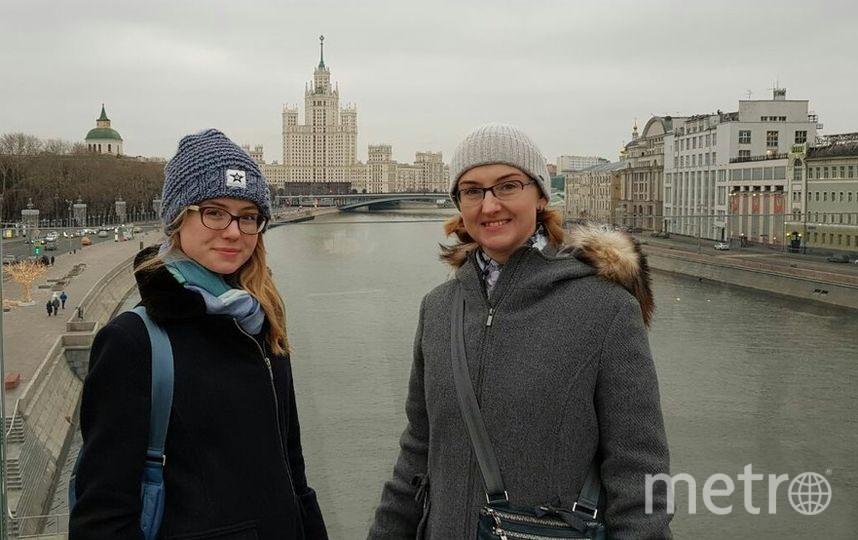 Алиса Ципелева(дочь)и Ольга Ципелева (мать). Фото Алиса
