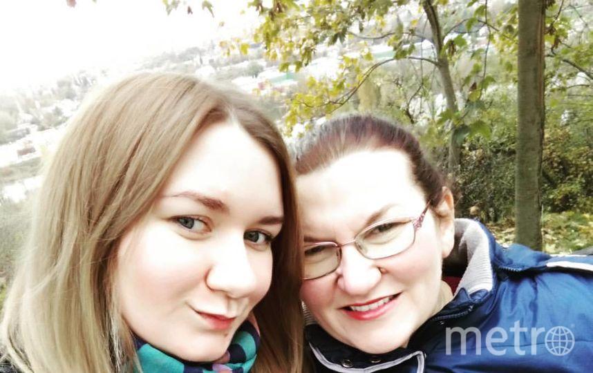 Балашова Ольга Владимировна (дочка) и Балашова Татьяна Николаевна (мама). Фото Ольга Балашова