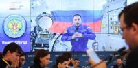 Космонавт Шкаплеров проголосовал на борту МКС