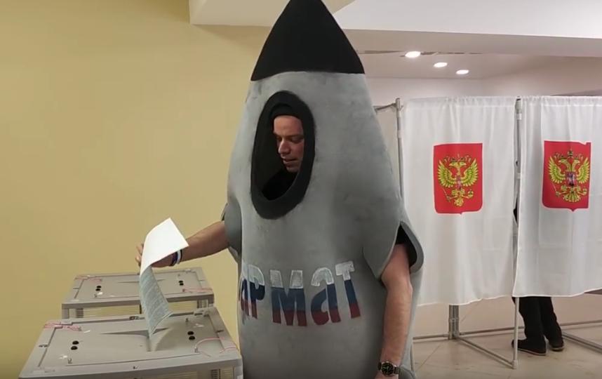 Выборы президента в Петербурге - 2018. Фото Все - скриншот YouTube