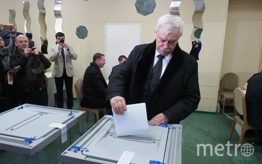 Выборы президента в Петербурге - 2018. Фото все - Святослав Акимов.
