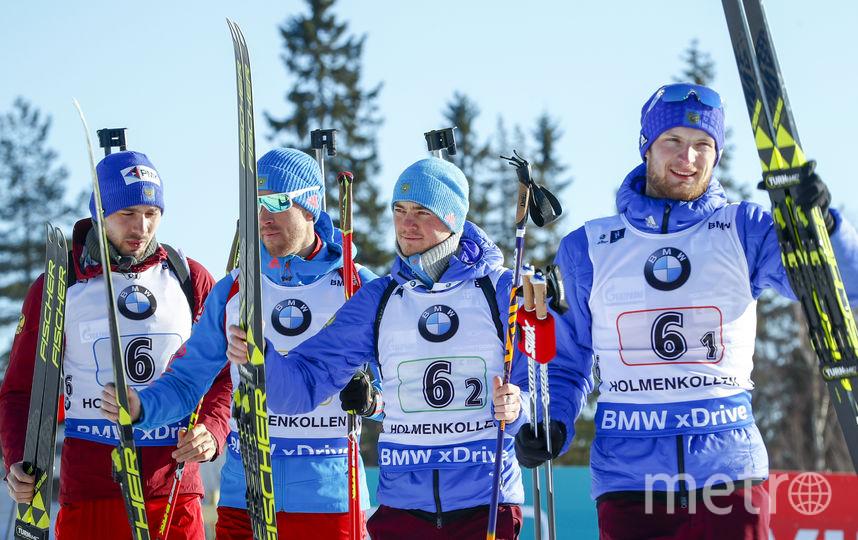 Россияне второй раз за сезон взяли бронзу в эстафете. Фото AFP
