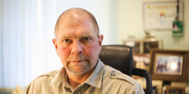Директор WWF России Игорь Честин.