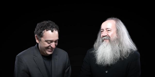 Шавьер Диас-Латорре (слева).
