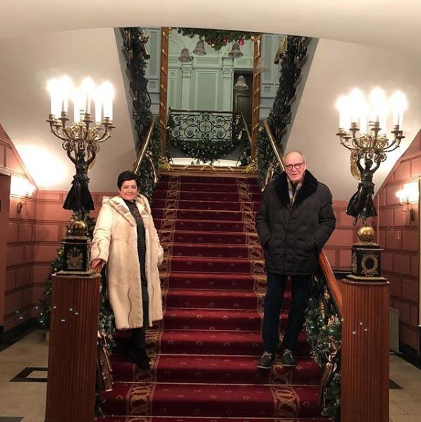 Эммануил Виторган и Ирина Млодик. Фото Скриншот Instagram: emmanuil_vitorgan