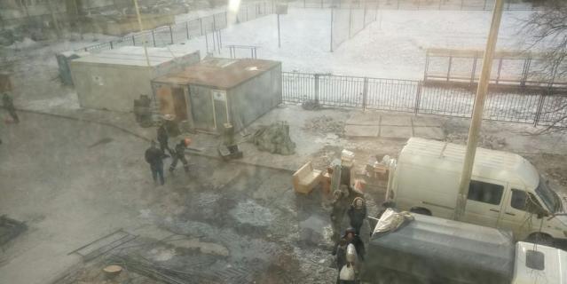 Появились фото из дома на Народного Ополчения после взрыва