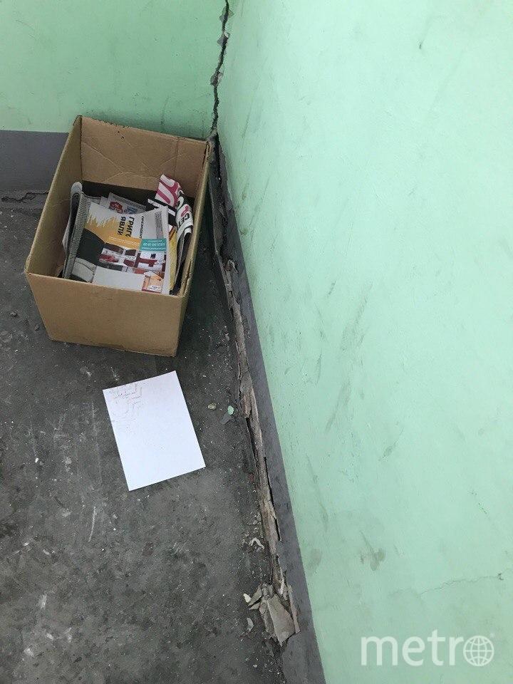 Фото из дома на Народного Ополчения. Фото предоставлено жильцами дома № 219
