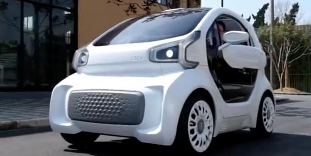 Китайцы научились печатать автомобили на 3D-принтере