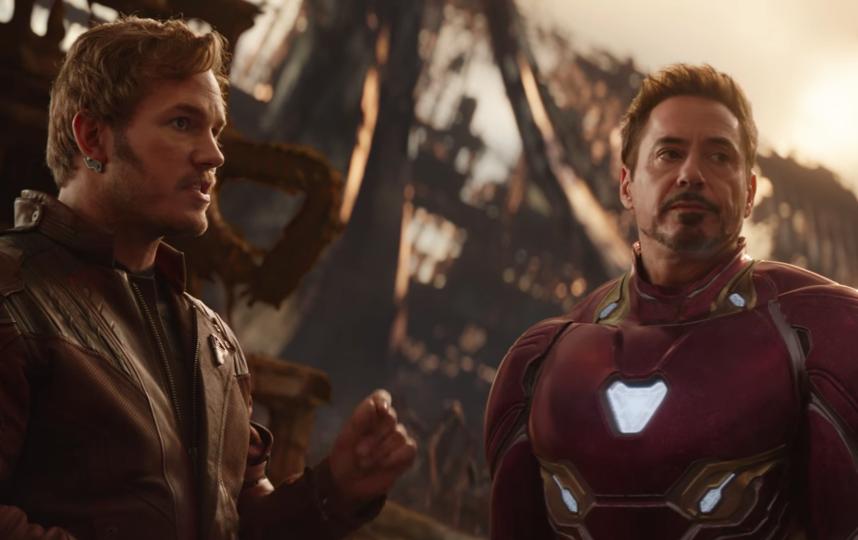 Звёздный Лорд и Железный человек будут заодно. Фото  Marvel Entertainment, Скриншот Youtube