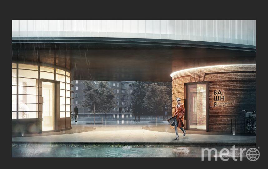 По проекту московской архитектурной студии IND architects водонапорная башня в городском округе Щербинка Новой Москвы будет преобразована в современный культурный центр. Фото facebook.com/archsovet