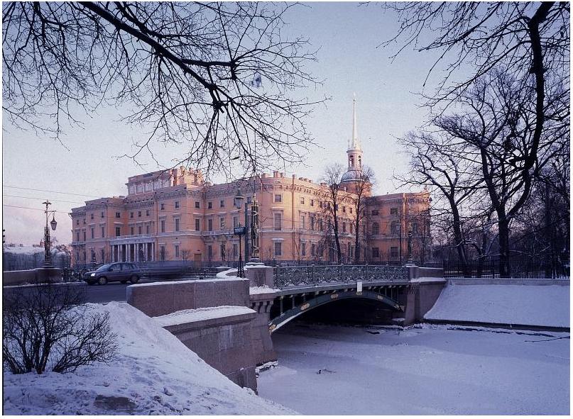Михайловский замок. Фото www.rusmuseum.ru/