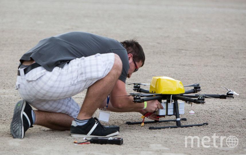 В Москве тестируют дронов-курьеров. Фото Getty