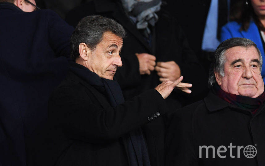 Николя Саркози 6 марта 2018 года. Фото Getty