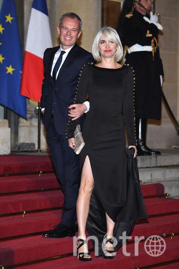 Франсуа де Рюжи с женой. Фото Getty