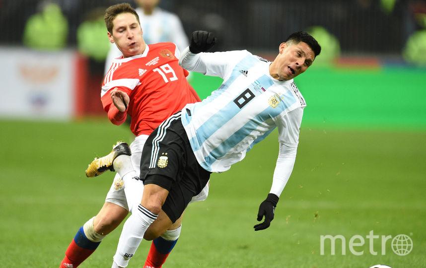 Основной комплект формы россияне уже опробовали в 2017-м году в матч с аргентинцами. Фото Getty
