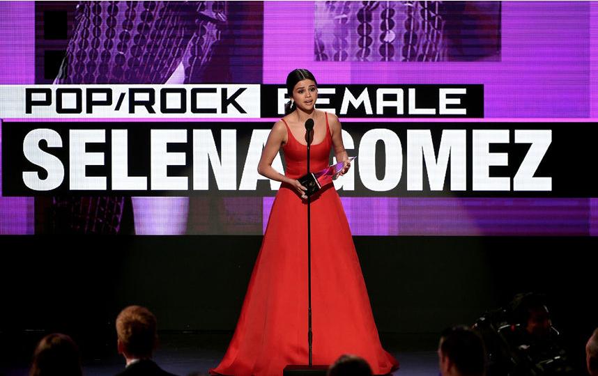 Селена Гомес в 2016-м году.