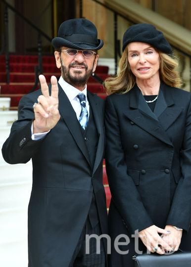 Ринго Старр и его супруга Барбара Бах. Фото Getty