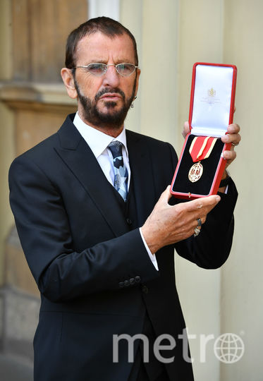 Ринго Старр стал рыцарем. Фото Getty