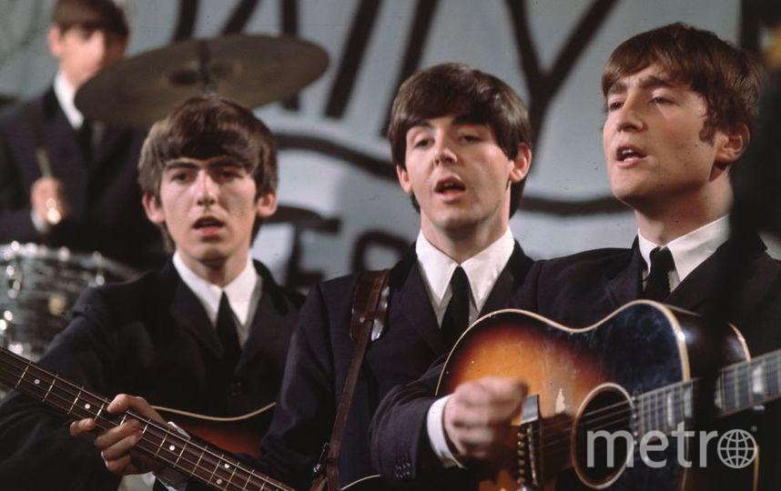 Ринго Старр, Пол МакКартни и Джон Леннон, архив. Фото Getty