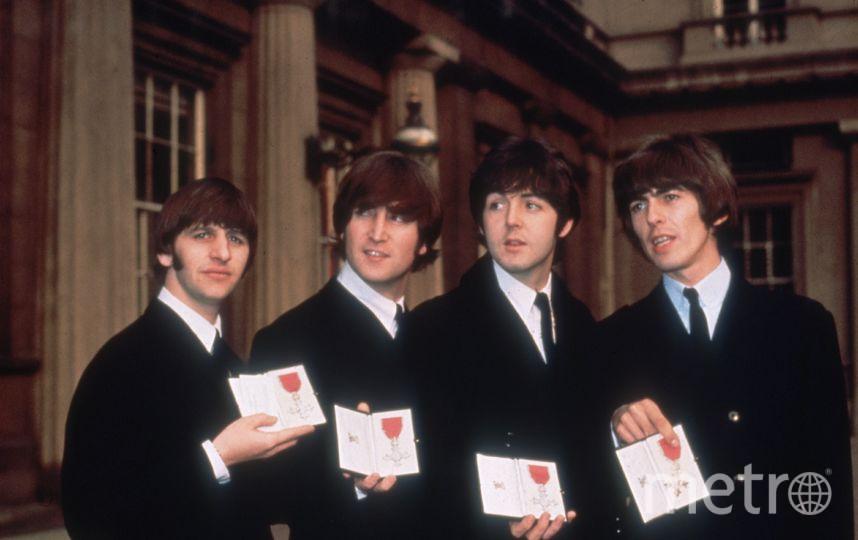 Ринго Старр, Джон Леннон, Пол МакКартни и Джордж Харрисон, архив. Фото Getty