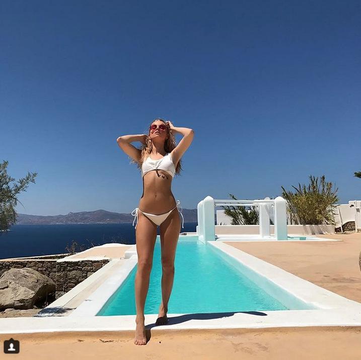 Лотти Мосс. Фото Скриншот Instagram: @lottiemossxo