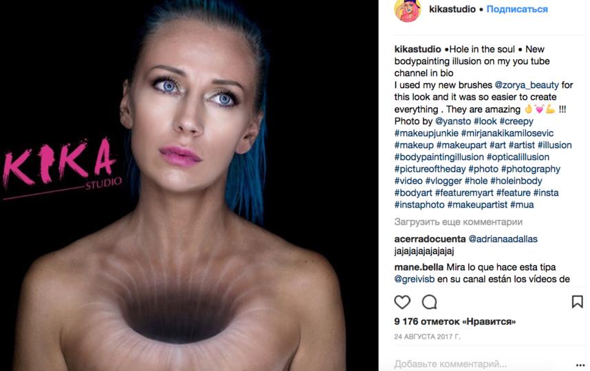 Визажист Мирьяна Кика Милошевич, фотоархив. Фото все - скриншот instagram.com/kikastudio/