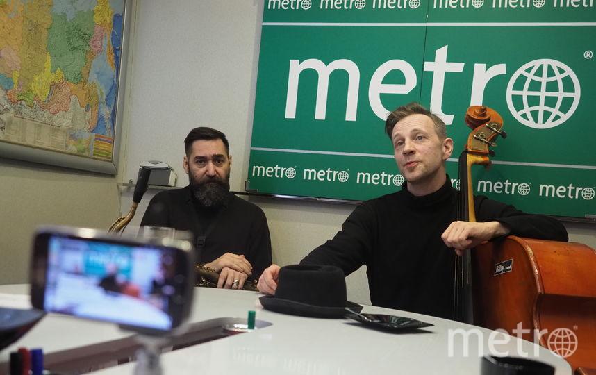 """Билли Новик,  Михаил Жидких  и Егор Крюковских. Фото Святослав Акимов, """"Metro"""""""