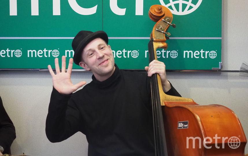 "Билли Новик в редакции Metro. Фото Святослав Акимов, ""Metro"""