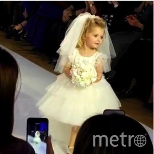 Дочка Пугачевой. Детский показ мод в рамках Недели Моды в Гостином дворе в Москве. Фото Instagram