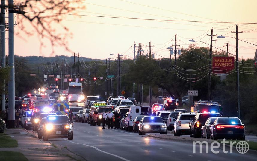 В Техасе прогремел шестой за три недели взрыв. Фото AFP