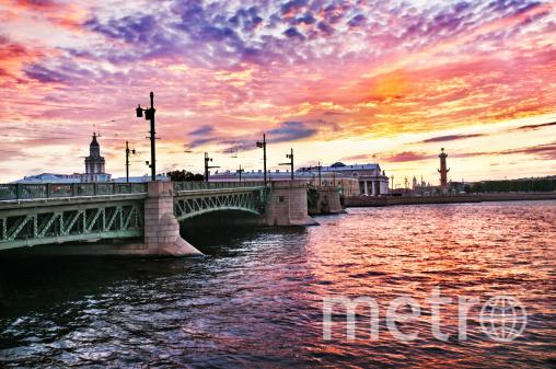 В Петербурге стали разводить мосты. Фото Getty