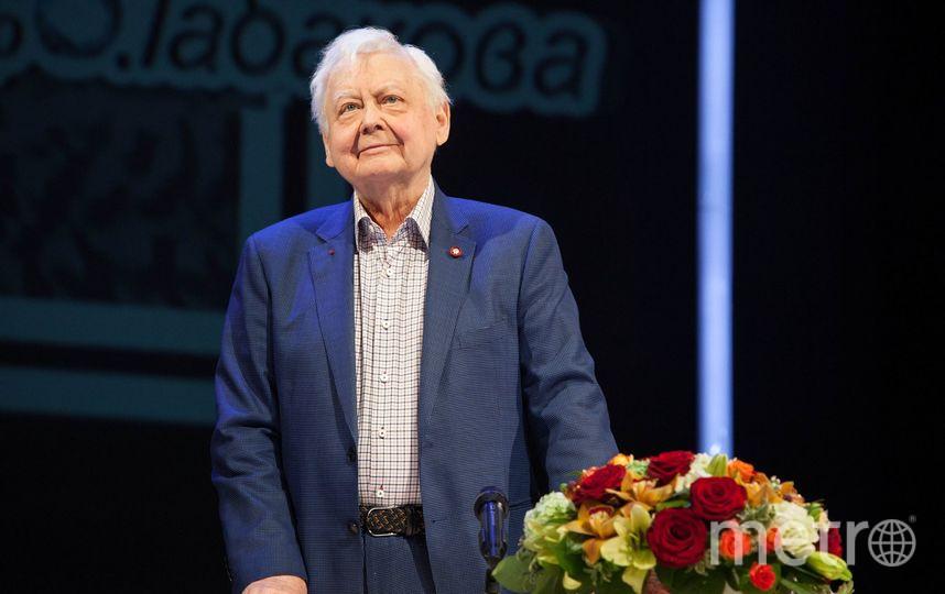 Олег Табаков. Фото https://www.facebook.com/TeatrOlegaTabakova/