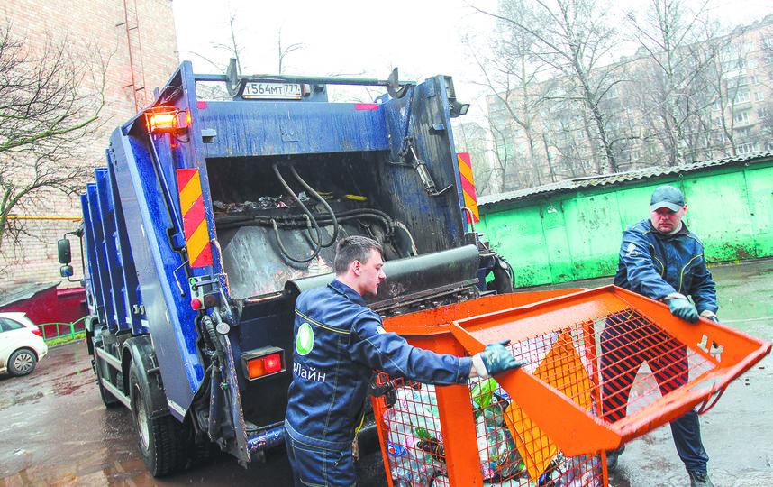 Так выглядит контейнер для раздельного сбора мусора, куда нужно выбрасывать бумагу, пластик, стекло и металл. Фото Василий Кузьмичёнок