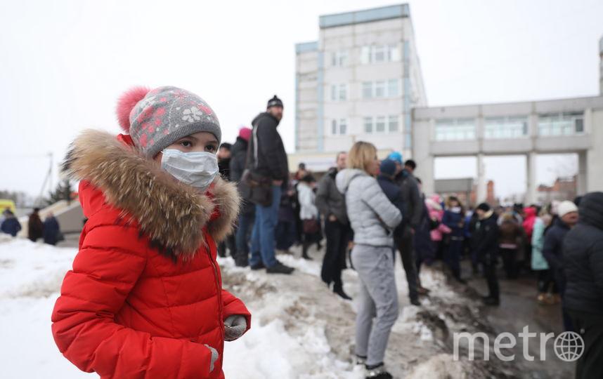 """В подмосковном Волоколамске в больницу доставили около 20 детей, им стало плохо от запахов с полигона """"Ядрово"""". Фото ТАСС"""