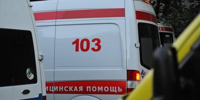 В центре Москвы обрушилась часть здания