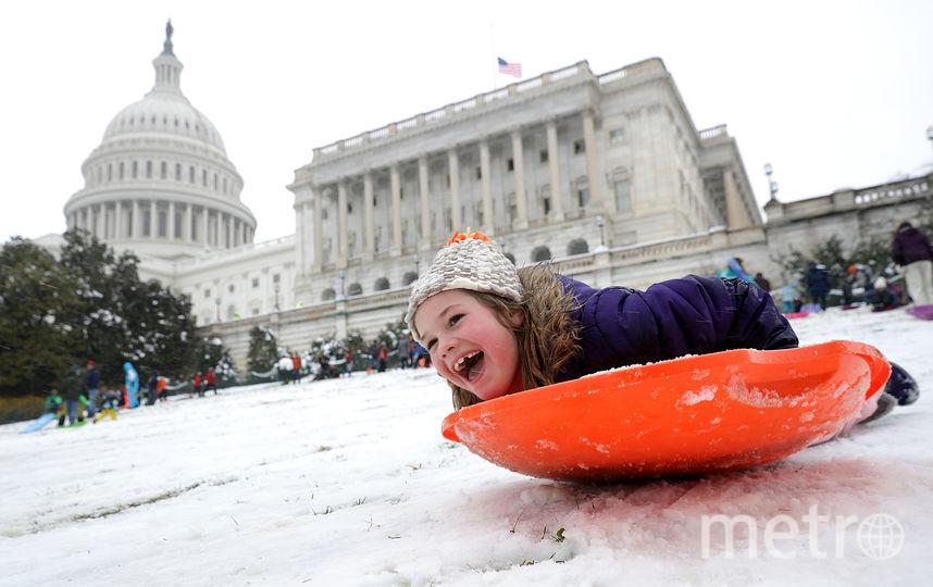 ВСША вожидании снежного урагана отменили тысячи рейсов