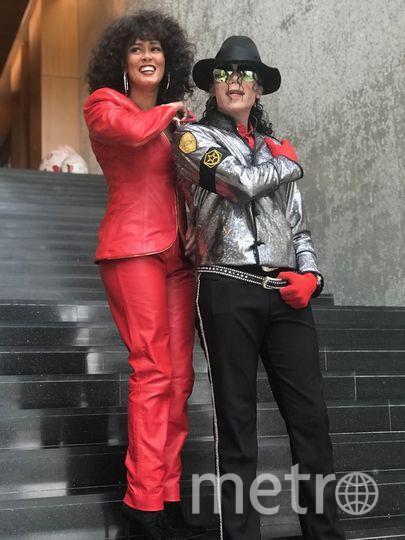 Дантанио в образе Майкла Джексона. Фото Предоставлено организаторами