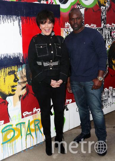 Крис Дженнер и её бойфренд Кори Гэмбл. Фото Getty