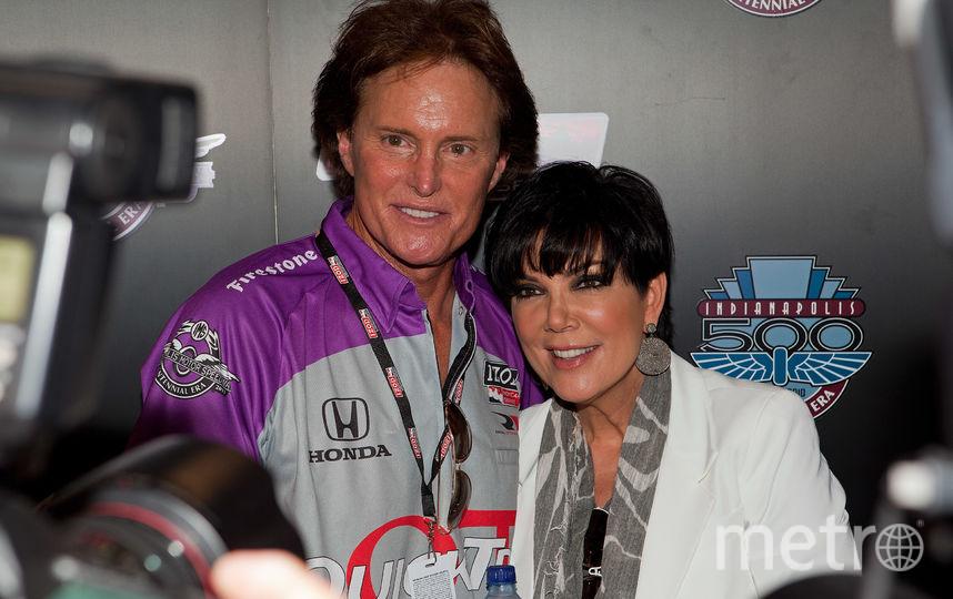 Крис Дженнер (справа) и её бывший муж Брюс Дженнер до смены пола (слева). Фото Getty