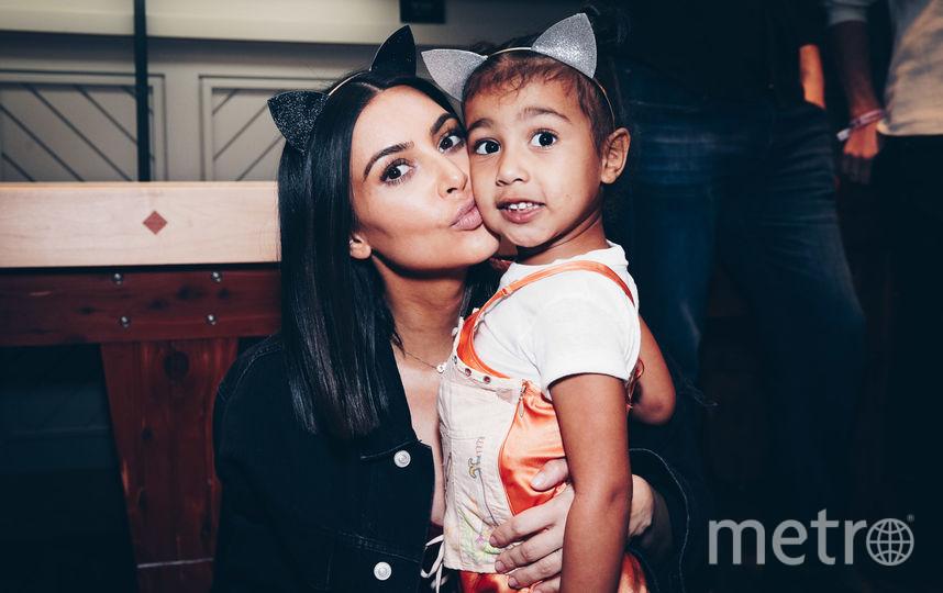 Ким Кардашьян с дочкой Норд. Фото Getty