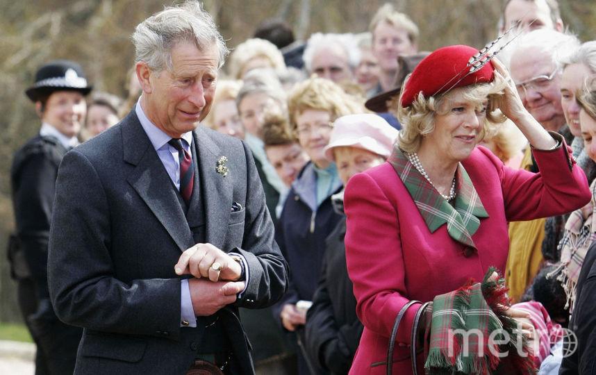 Камилла Паркер-Боулз (Camilla Parker-Bowles), Герцогиня Корнуольская и принц Чарльз. Фото Getty