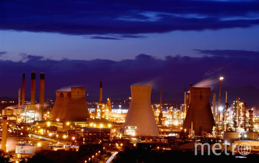 Химическая фабрика | Жанровое фото. Фото Getty
