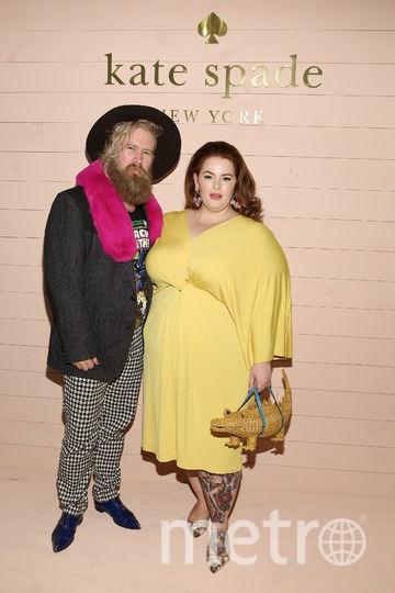 Тесс Холлидей с мужем. Фото Getty
